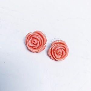 Betsey Johnson - Rose Earrings